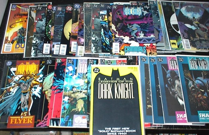 BATMAN Legends of the Dark Knight Lot of 34 DC Comics