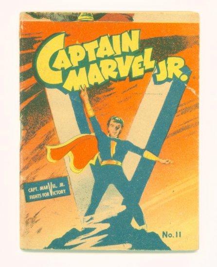 CAPTAIN MARVEL JR #11 Mighty Midget Comics 1942