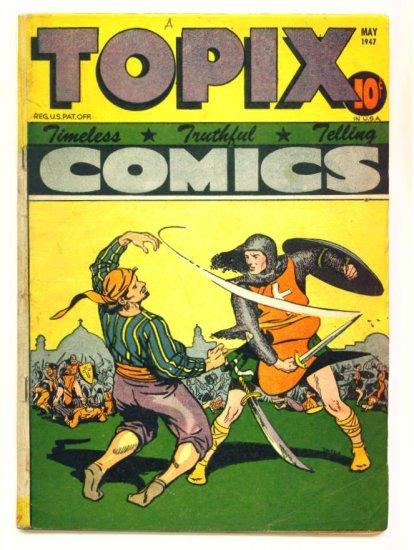 TOPIX COMICS VOLUME 5 ISSUE #8 1947