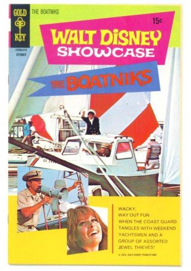 The BOATNIKS Gold Key Comics 1970 Walt Disney Showcase #1
