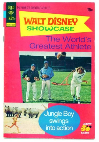 WORLDS GREATEST ATHLETE Gold Key Comics 1973
