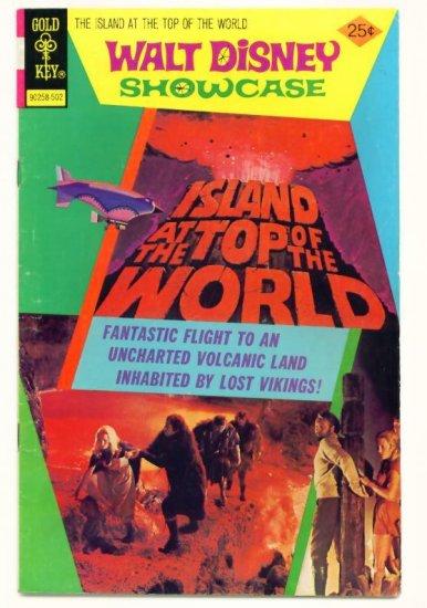 WALT DISNEY SHOWCASE #27 Gold Key Comics 1975 -- ISLAND AT THE TOP OF THE WORLD