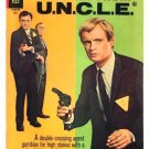 The MAN FROM UNCLE #12 Gold Key Comics 1967 Photo Cover