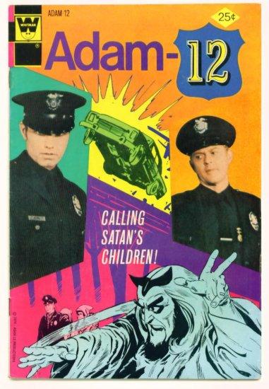 ADAM-12 #5 Whitman Comics 1974 Photo Cover