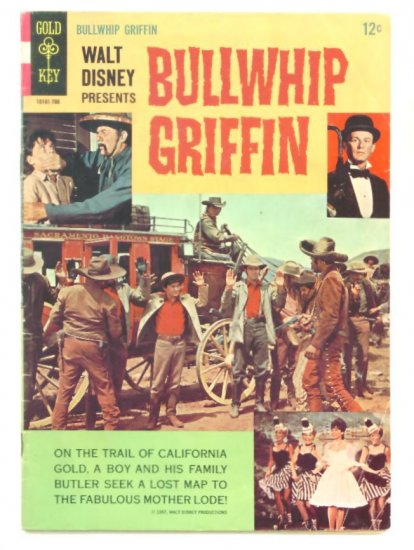BULLWHIP GRIFFIN Gold Key Comics 1967 Western Movie