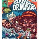 The ISLAND of Dr. MOREAU Marvel Movie Comics 1977 Very Fine