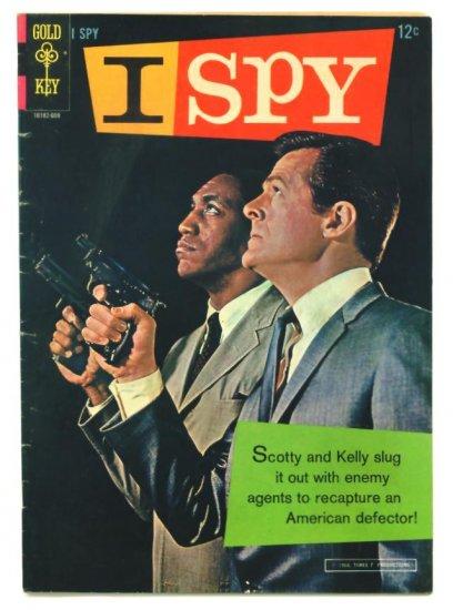I SPY #1 Gold Key Comics 1966 Photo Cover Bill Cosby