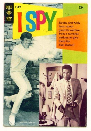 I SPY #5 Gold Key Comics 1968 Photo Cover Bill Cosby