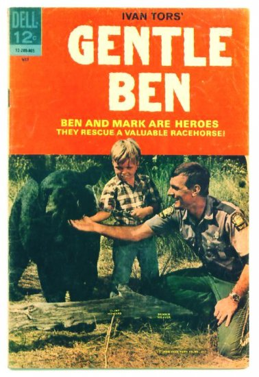 GENTLE BEN #2 Dell Comics 1968 Clint Howard photo cover