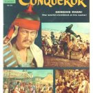 The CONQUEROR Dell Comics 1956 JOHN WAYNE PHOTO COVER