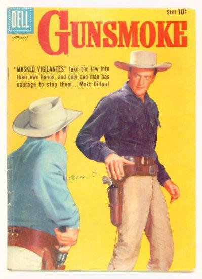 GUNSMOKE #15 Dell Comics 1959 James Arness