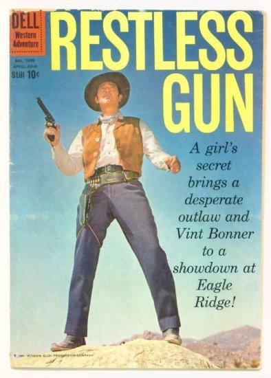 RESTLESS GUN Dell Comics 1960 John Payne Western