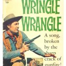 WRINGLE WRANGLE Dell Comics 1956 Fess Parker Walt Disney Western