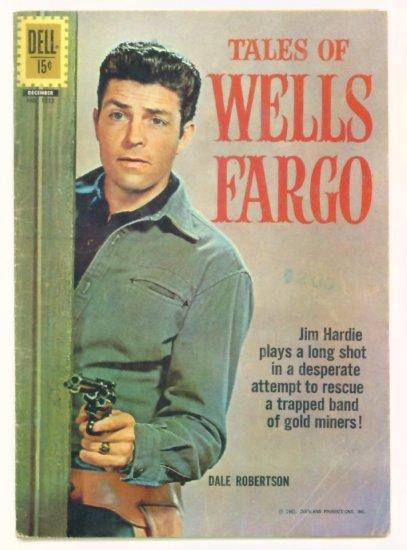 TALES of WELLS FARGO #7 Dell Comics 1957  Western