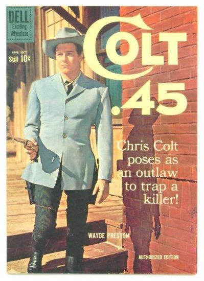 COLT 45 #6 Dell Comics 1960 Wayde Preston TV Western