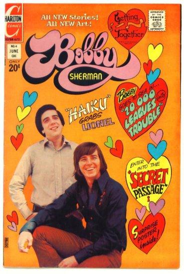 BOBBY SHERMAN #4 Charlton Comics 1972 Photo Cover