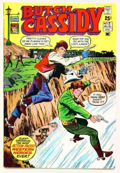 BUTCH CASSIDY #2 Skywald Comics 1971 Giant Western