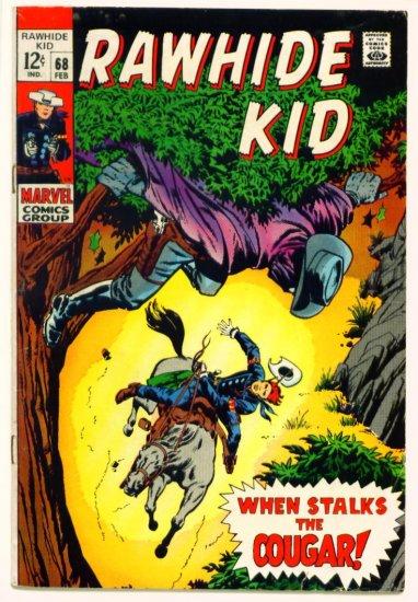 RAWHIDE KID #68 Marvel Comics 1969