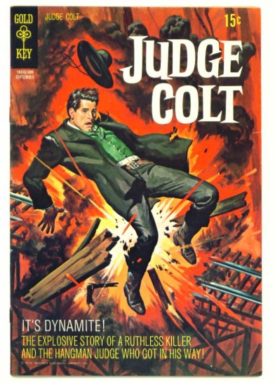 JUDGE COLT #4 Gold Key Comics 1970 Western FINE