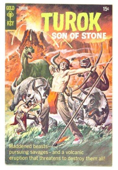 TUROK Son of Stone #66 Gold Key Comics 1969