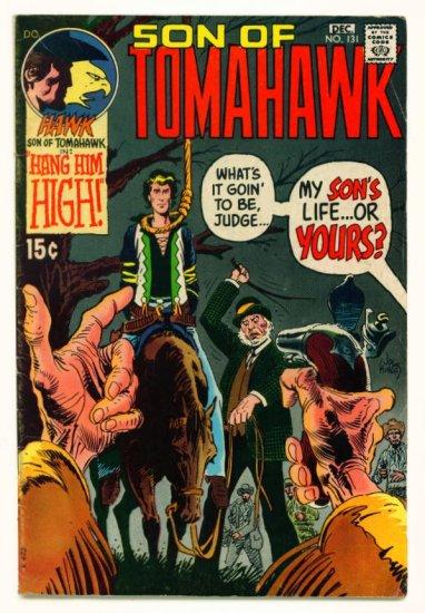 TOMAHAWK #131 DC Comics 1970 Frazetta