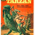 TARZAN #124 Dell Comics 1961 Dinosaur cover