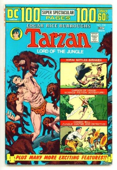 TARZAN #230 DC Comics 1974 GIANT 100 PAGE SPECTACULAR  FINE +