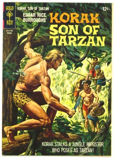 KORAK Son of Tarzan #12 Gold Key Comics 1966