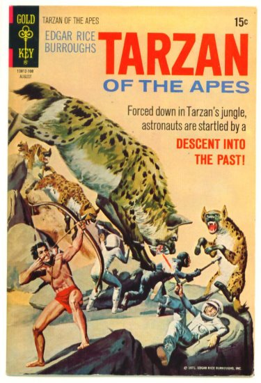 TARZAN #202 Gold Key Comics 1971 Fine +