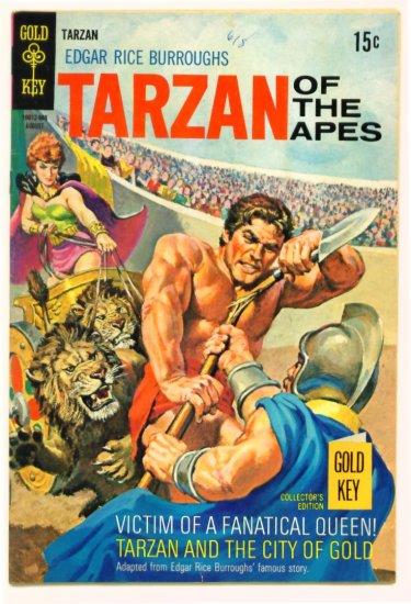 TARZAN #186 Gold Key Comics 1969