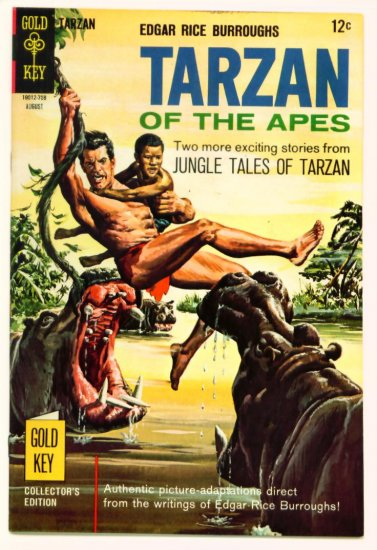 TARZAN #170 Gold Key Comics 1967 LEOPARD GIRL VF
