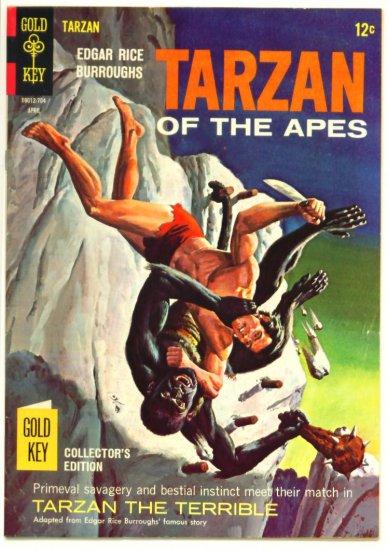 TARZAN #166 Gold Key Comics 1967 LEOPARD GIRL