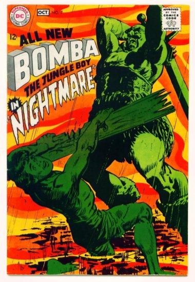 BOMBA The Jungle Boy #7 DC Comics 1968