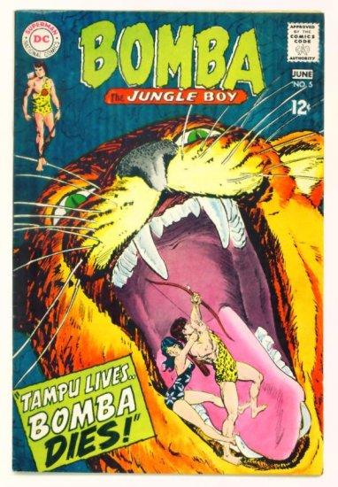 BOMBA The Jungle Boy #5 DC Comics 1968