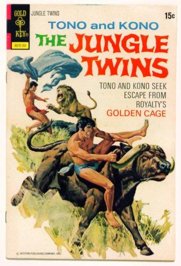 JUNGLE TWINS #5 Gold Key Comics 1973 Tono & Kono