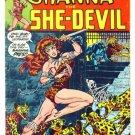 SHANNA The She-Devil #2 Marvel Comics 1973 Heroin Drug Story