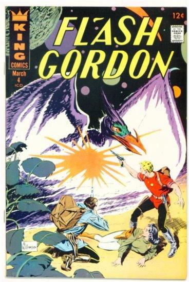 FLASH GORDON #4 King Comics 1967 Very Fine