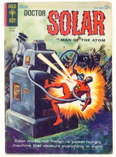 DOCTOR SOLAR Man of the Atom #9 Gold Key Comics 1964