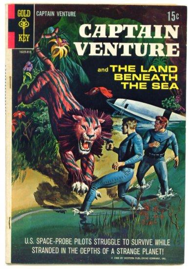 CAPTAIN VENTURE #1 Gold Key Comics 1968