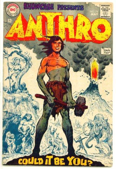 ANTHRO Showcase Comics Presents #74 DC Comics 1968 Howie Post