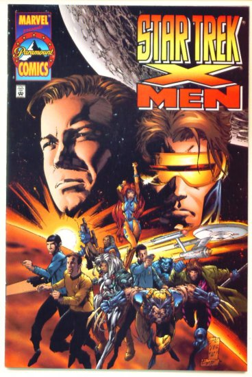 X-MEN STAR TREK #1 Marvel Comics 1996 NM