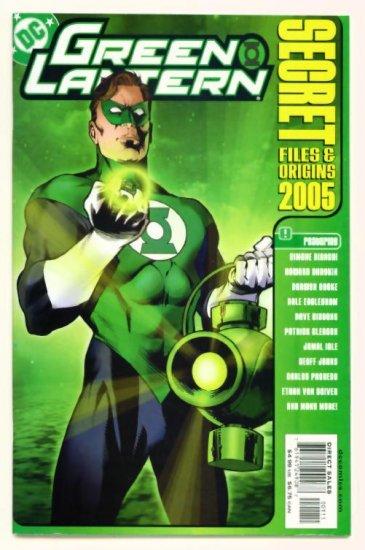 GREEN LANTERN SECRET FILES DC Comics 2005 Hal Jordan