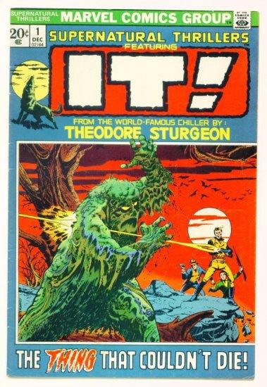 IT ! SUPERNATURAL THRILLERS #1 Marvel Comics 1972