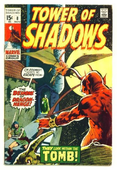 TOWER of SHADOWS #8 Marvel Comics 1970 Wally Wood