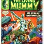 The Living Mummy SUPERNATURAL THRILLERS Lot #8 and #9 Marvel Comics 1974