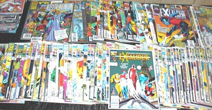 EXCALIBUR Lot of 125 Marvel Comics Nightcrawler X-Men