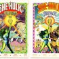 SHE-HULK CEREMONY #1 and #2 Lot Marvel Comics 1989 Complete set