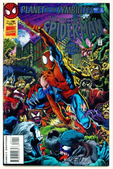 SPECTACULAR SPIDER-MAN SUPER SPECIAL #1 Marvel Comics 1995 Venom