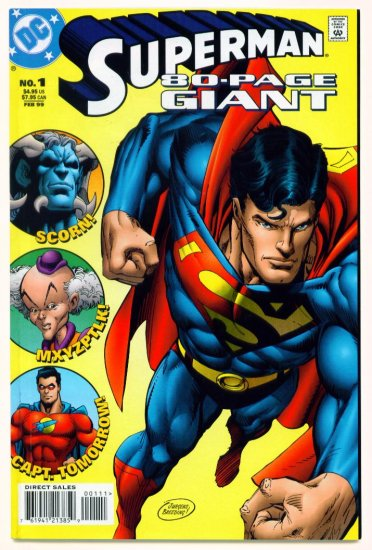 SUPERMAN 80 PAGE GIANT #1 DC Comics 1999 Garth Ennis