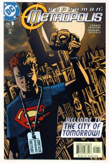 SUPERMAN METROPOLIS #1 DC Comics 2003